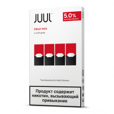 JUUL Картридж Fruit Mix 4шт
